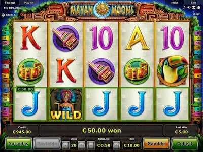 Mayan Moon slot machine