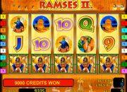 Ramses II slot machine