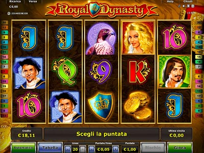 royal dynasty slot machine online