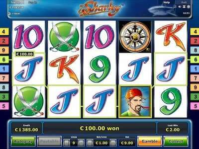sharky slot machine online con bonus