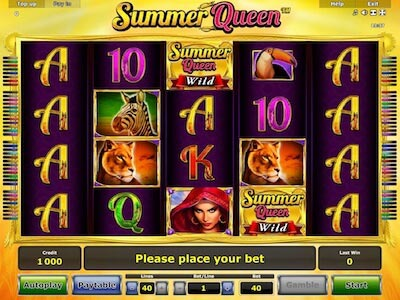 summer queen slot machine