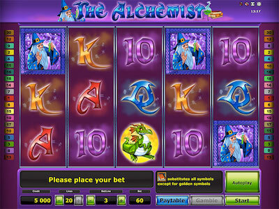 The Alchemist slot machine