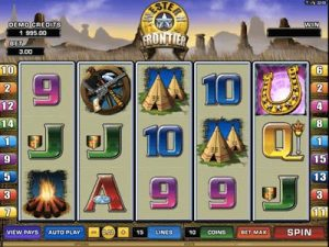western frontier slot machine