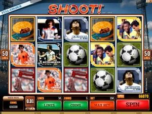 Shoot slot machine