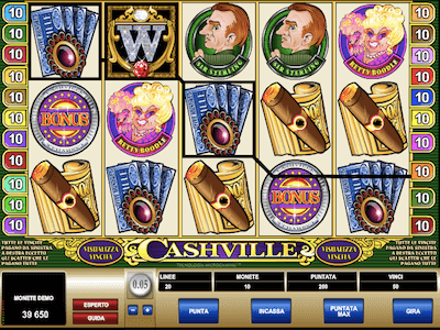 Cashville slot machine