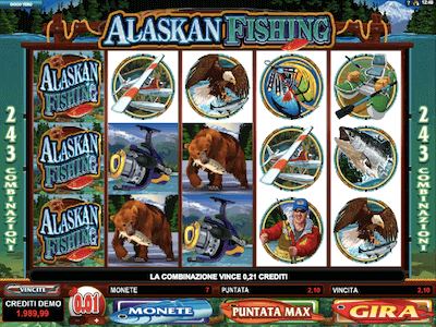 Alaskan Fishing slot machine