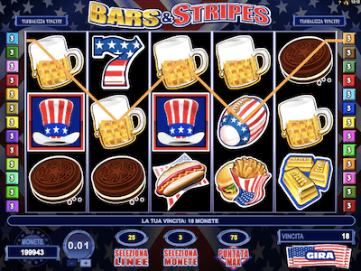 Bars and Stripes slot machine