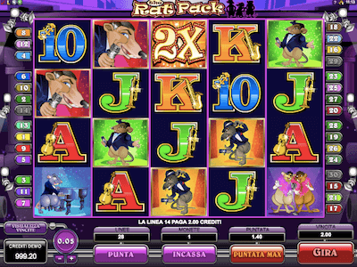 The Rat Pack slot machine
