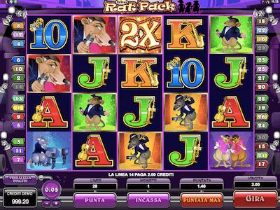 The Rat Pack slot machine
