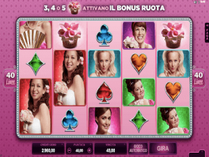 Bridesmaids slot machine