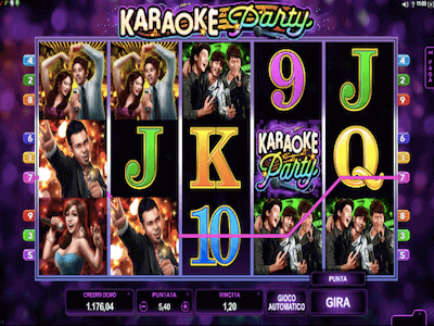 Karaoke Party slot machine