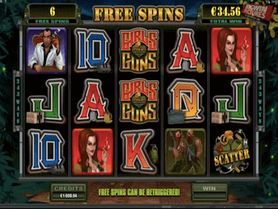 Girls with Guns slot machine