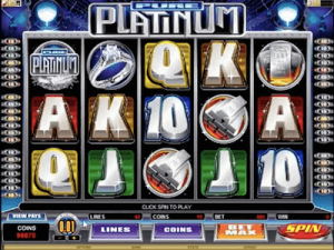 Pure Platinum slot machine