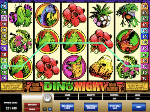 Dino Might slot machine