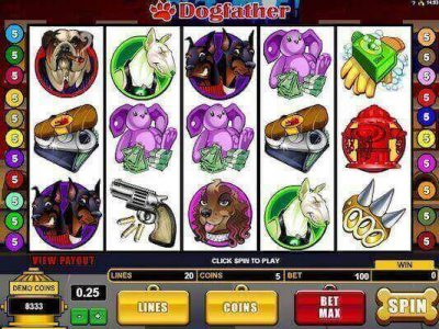 Dogfather slot machine
