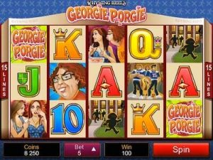 Georgie Porgie Rhyming Reel slot machine