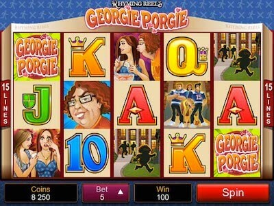 Georgie Porgie Rhyming Reel slot machine