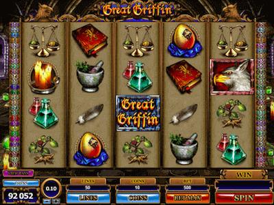 Great Griffin slot machine