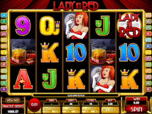 Lady in Red slot machine