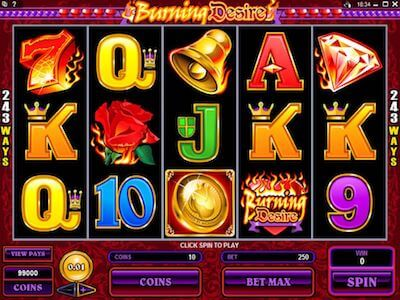 Burning Desire slot machine
