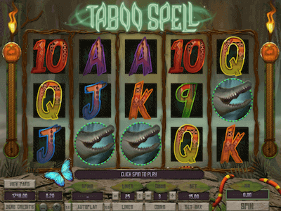 Taboo Spell slot machine