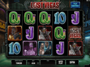 Lost Vegas slot machine