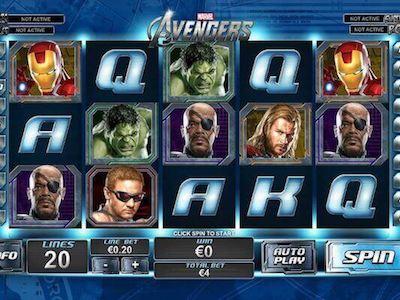 The Avengers slot machine