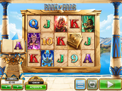 book of gods slot machine online