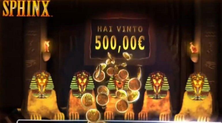 trucchi slot machine Sfinge